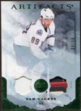 2010/11 Upper Deck Artifacts Jerseys Patches Emerald #76 Sam Gagner 4/50