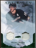 2010/11 Upper Deck Artifacts Jerseys Patches Emerald #82 Corey Perry /50