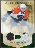 2010/11 Upper Deck Artifacts Jerseys Patches Emerald #83 Mike Richards /50