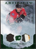 2010/11 Upper Deck Artifacts Jerseys Patches Emerald #84 Jarome Iginla /50