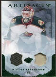 2010/11 Upper Deck Artifacts Jerseys Patches Emerald #87 Niklas Backstrom /50