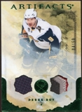 2010/11 Upper Deck Artifacts Jerseys Patches Emerald #91 Derek Roy 4/50