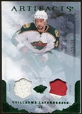 2010/11 Upper Deck Artifacts Jerseys Patches Emerald #100 Guillaume Latendresse /50