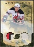 2010/11 Upper Deck Artifacts Jerseys Patches Gold #63 Zach Parise 4/15