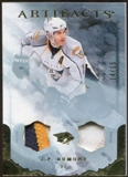 2010/11 Upper Deck Artifacts Jerseys Patches Gold #65 J.P. Dumont 14/15