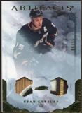 2010/11 Upper Deck Artifacts Jerseys Patches Gold #67 Ryan Getzlaf 8/15