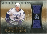 2010/11 Upper Deck Artifacts Treasured Swatches #TSHS Henrik Sedin /150