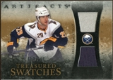 2010/11 Upper Deck Artifacts Treasured Swatches #TSJP Jason Pominville /150