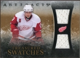 2010/11 Upper Deck Artifacts Treasured Swatches #TSPD Pavel Datsyuk /150