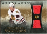 2010/11 Upper Deck Artifacts Treasured Swatches #TSPK Patrick Kane /150