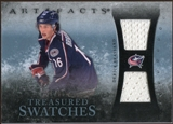 2010/11 Upper Deck Artifacts Treasured Swatches Blue #TSDB Derick Brassard 19/35