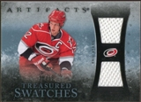 2010/11 Upper Deck Artifacts Treasured Swatches Blue #TSES Eric Staal 13/35
