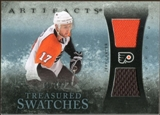 2010/11 Upper Deck Artifacts Treasured Swatches Blue #TSJC Jeff Carter 8/35