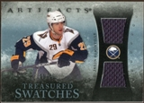 2010/11 Upper Deck Artifacts Treasured Swatches Blue #TSJP Jason Pominville 33/35