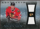2010/11 Upper Deck Artifacts Treasured Swatches Blue #TSJT Jonathan Toews 24/35