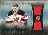 2010/11 Upper Deck Artifacts Treasured Swatches Blue #TSMB Martin Brodeur 12/35