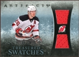 2010/11 Upper Deck Artifacts Treasured Swatches Blue #TSPE Patrik Elias 5/35