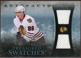 2010/11 Upper Deck Artifacts Treasured Swatches Blue #TSPK Patrick Kane 3/35