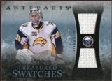 2010/11 Upper Deck Artifacts Treasured Swatches Blue #TSRM Ryan Miller /35