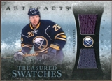 2010/11 Upper Deck Artifacts Treasured Swatches Blue #TSTV Thomas Vanek /35