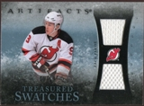 2010/11 Upper Deck Artifacts Treasured Swatches Blue #TSZP Zach Parise /35