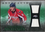 2010/11 Upper Deck Artifacts Treasured Swatches Emerald #TSAO Alexander Ovechkin 5/15