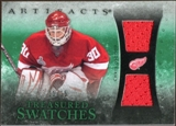 2010/11 Upper Deck Artifacts Treasured Swatches Emerald #TSCO Chris Osgood /15