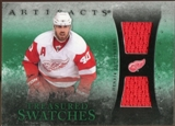2010/11 Upper Deck Artifacts Treasured Swatches Emerald #TSHZ Henrik Zetterberg 10/15