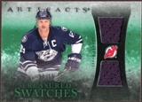 2010/11 Upper Deck Artifacts Treasured Swatches Emerald #TSJA Jason Arnott 11/15