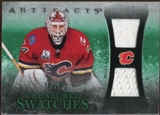 2010/11 Upper Deck Artifacts Treasured Swatches Emerald #TSMK Miikka Kiprusoff 10/15