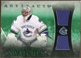 2010/11 Upper Deck Artifacts Treasured Swatches Emerald #TSRL Roberto Luongo 1/15