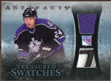 2010/11 Upper Deck Artifacts Treasured Swatches Jersey Patch Blue #TSAF Alexander Frolov /50