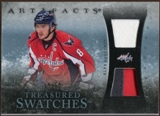 2010/11 Upper Deck Artifacts Treasured Swatches Jersey Patch Blue #TSAO Alex Ovechkin /50