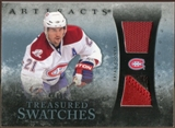 2010/11 Upper Deck Artifacts Treasured Swatches Jersey Patch Blue #TSBG Brian Gionta /50