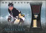 2010/11 Upper Deck Artifacts Treasured Swatches Jersey Patch Blue #TSEM Evgeni Malkin /50