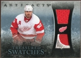 2010/11 Upper Deck Artifacts Treasured Swatches Jersey Patch Blue #TSHZ Henrik Zetterberg 9/50