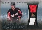 2010/11 Upper Deck Artifacts Treasured Swatches Jersey Patch Blue #TSJS Jason Spezza 34/50