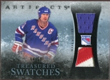 2010/11 Upper Deck Artifacts Treasured Swatches Jersey Patch Blue #TSMM Mark Messier /50