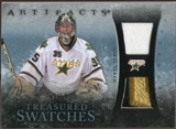 2010/11 Upper Deck Artifacts Treasured Swatches Jersey Patch Blue #TSMT Marty Turco /50