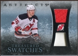 2010/11 Upper Deck Artifacts Treasured Swatches Jersey Patch Blue #TSPE Patrik Elias /50