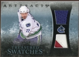 2010/11 Upper Deck Artifacts Treasured Swatches Jersey Patch Blue #TSSE Daniel Sedin 47/50