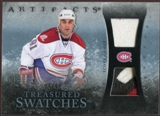 2010/11 Upper Deck Artifacts Treasured Swatches Jersey Patch Blue #TSSG Scott Gomez 34/50