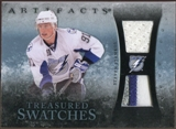 2010/11 Upper Deck Artifacts Treasured Swatches Jersey Patch Blue #TSSS Steven Stamkos /50