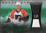 2010/11 Upper Deck Artifacts Treasured Swatches Jersey Patch Emerald #TSCG Claude Giroux 22/25