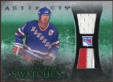 2010/11 Upper Deck Artifacts Treasured Swatches Jersey Patch Emerald #TSMM Mark Messier 8/25