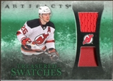 2010/11 Upper Deck Artifacts Treasured Swatches Jersey Patch Emerald #TSPE Patrik Elias 22/25