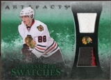 2010/11 Upper Deck Artifacts Treasured Swatches Jersey Patch Emerald #TSPK Patrick Kane 20/25