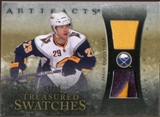2010/11 Upper Deck Artifacts Treasured Swatches Jersey Patch Gold #TSJP Jason Pominville /15