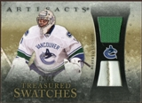 2010/11 Upper Deck Artifacts Treasured Swatches Jersey Patch Gold #TSRL Roberto Luongo 2/15
