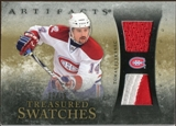 2010/11 Upper Deck Artifacts Treasured Swatches Jersey Patch Gold #TSTP Tomas Plekanec 13/15